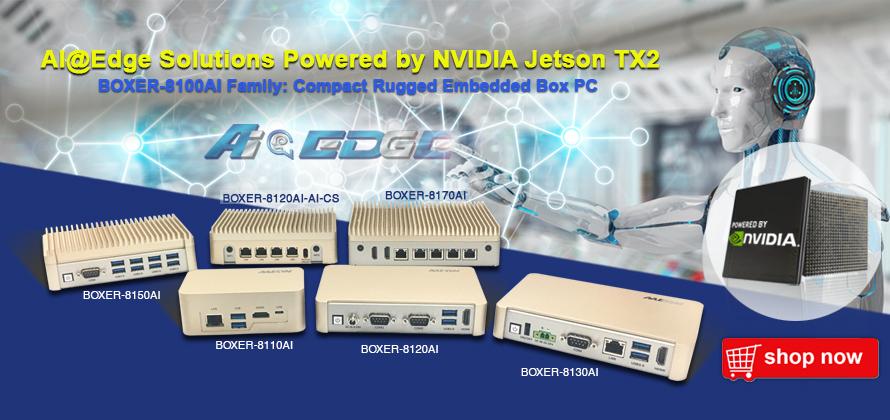 AAEON BOX PC | AI deep learning by NVIDIA Jetson TX2