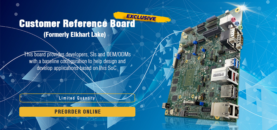 Elkhart Lake | Customer reference board | Intel