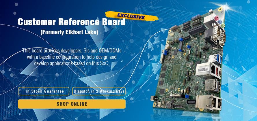 Elkhart Lake | Customer reference board | Intel