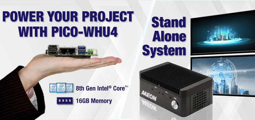 PICO-WHU4 | Embedded Single Board Computer | AAEON