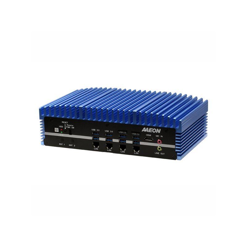 AAEON BOXER-6641   Fanless Embedded Box PC with Socket Type 8th Gen Intel Processor