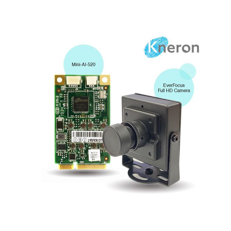 AAEON Mini-AI-520 | AI Edge Computing Module with Kneron KL520 NPU
